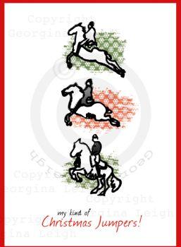 Spanish Riding School Christmas Card